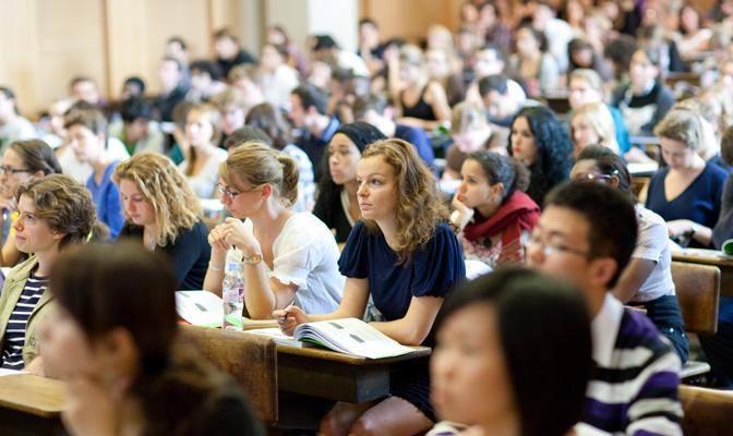 Étudiants en situation d'examen
